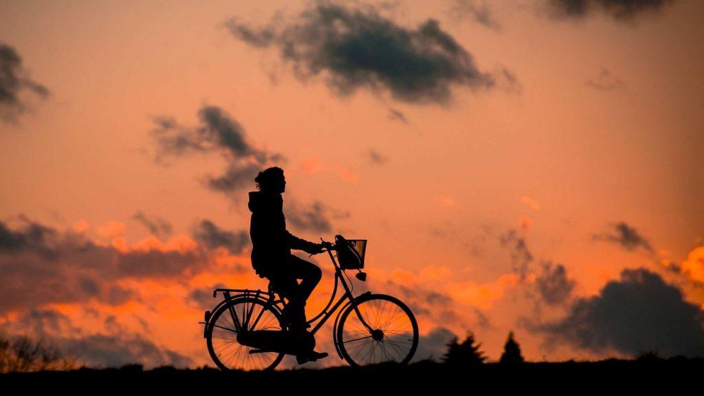 Cycling paths near Dublin