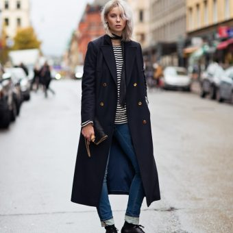 Wool Coat - Casual Style