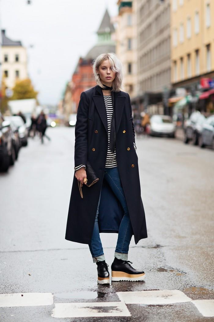 Leather coats or wool coats