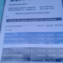 Duff Discount Cycles