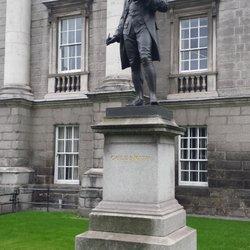 Oliver Goldsmith Statue